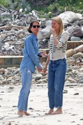 Gwyneth Paltrow on the Beach in Montecito 06/06/2021