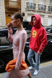 Hailey Rhode Bieber and Justin Bieber at Stresa
