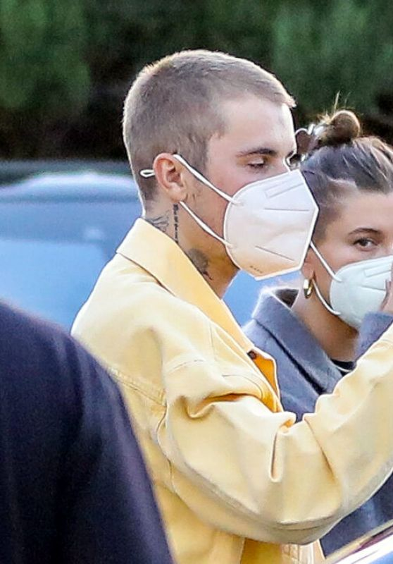 Hailey Rhode Bieber and Justin Bieber on a Date Night in Los Angeles 06/09/2021