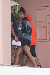 Hailey Rhode Bieber at the Beverly Hills Hotel 06/18/2021