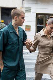 Hailey Rhode Bieber - La Maison du Caviar in Paris 06/22/2021