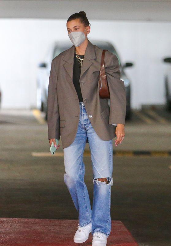 Hailey Rhode Bieber - Out in Beverly Hills 06/16/2021
