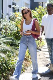 Hailey Rhode Bieber Street Style - West Hollywood 06/09/2021