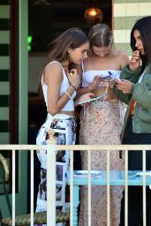 Hana Cross and Chiara Sampaio - Impromptu Photoshoot in LA 06/23/2021