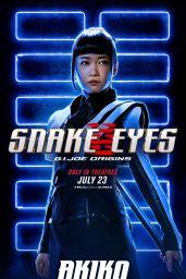 "Haruka Abe - ""Snake Eyes: G.I. Joe Origins"" Posters"