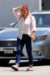 Hilary Duff at Casa Mega in Studio City 06/17/2021