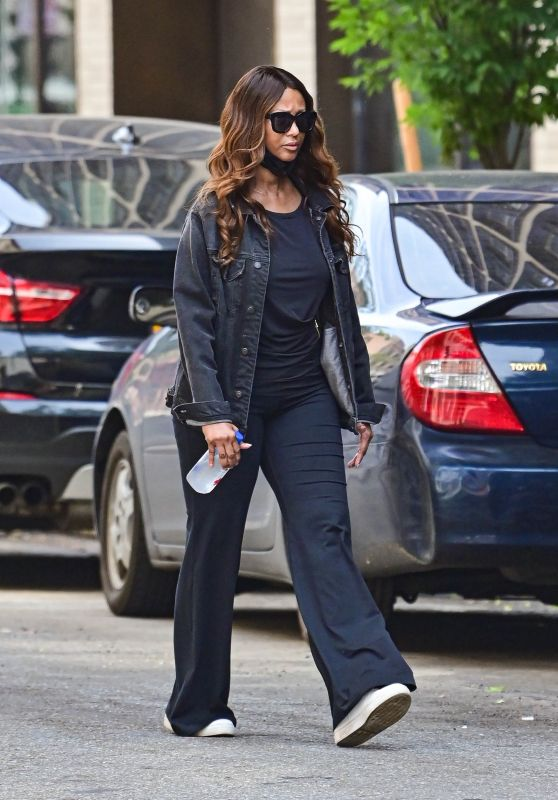 Iman - Out in New York 06/08/2021