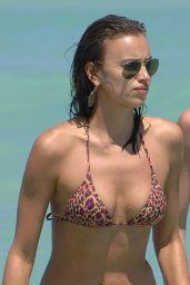 Irina Shayk in a Bikini - Miami July 2013