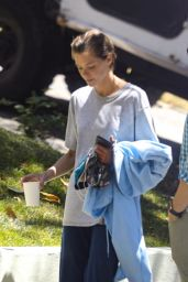 Jaime King - Outside Her Home in Hollywood 06/24/2021