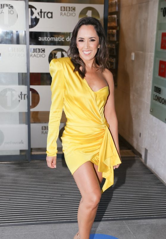 Janette Manrara - BBC Studios in London 06/10/2021