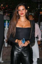 Jasmine Tookes, Sara Sampaio and Josephine Skriver - Night Out  at The Ivy in LA 06/04/2021