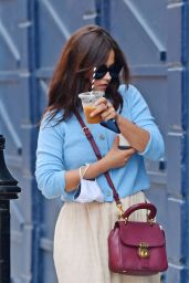 Jenna Coleman - Out in London 06/17/2021