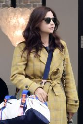 Jenna Coleman - Shopping in West London 05/28/2021
