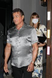 Jennifer Flavin and Sylvester Stallone - Leaving Craig