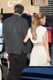 Jennifer Lopez and Ben Affleck - Family Dinner at Nobu in Malibu 06/13/2021