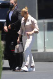 Jennifer Lopez - Arrives at the KTLA 5 Studios in LA 06/24/2021