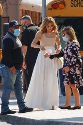 Jennifer Lopez at Windward School in LA 06/03/2021