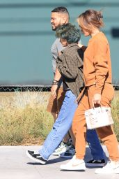 Jennifer Lopez in Comfy Outfit - Shopping for Furniture and Rugs in Hollywood 06/26/2021