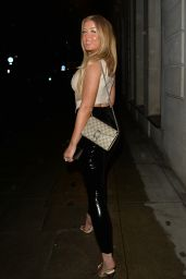 Jess Gale and Eve Gale at MKNY House Mayfair in London 06/21/2021