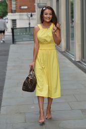 Jess Impiazzi - Leaving Sabine Roof Bar in London 06/16/2021