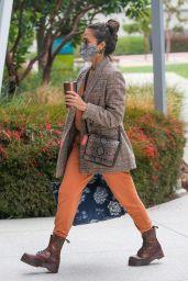 Jessica Alba - Arrives at Her Company in Santa Monica 06/01/2021