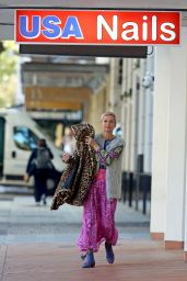 Jessica Rowe - Out in Double Bay, Sydney 06/20/2021