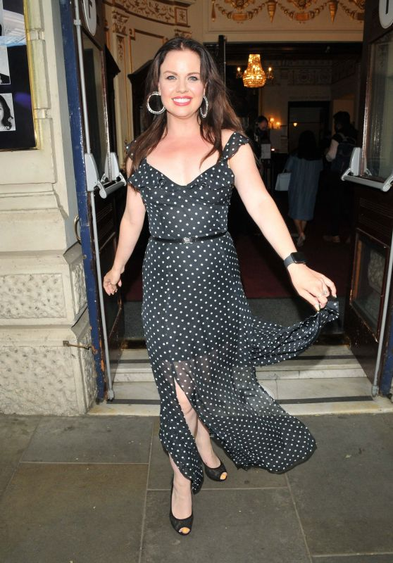 """Joanne Clifton – """"Dr Ranj: Scrubs to Sparkles"""" Rheater Production in London 06/15/2021"""