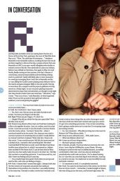 Jodie Comer and Ryan Reynolds - Total Film July 2021 Issue