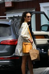 Jordana Brewster - Out in Brentwood 06/28/2021