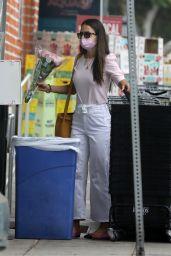 Jordana Brewster - Shopping in Santa Monica 06/21/2021