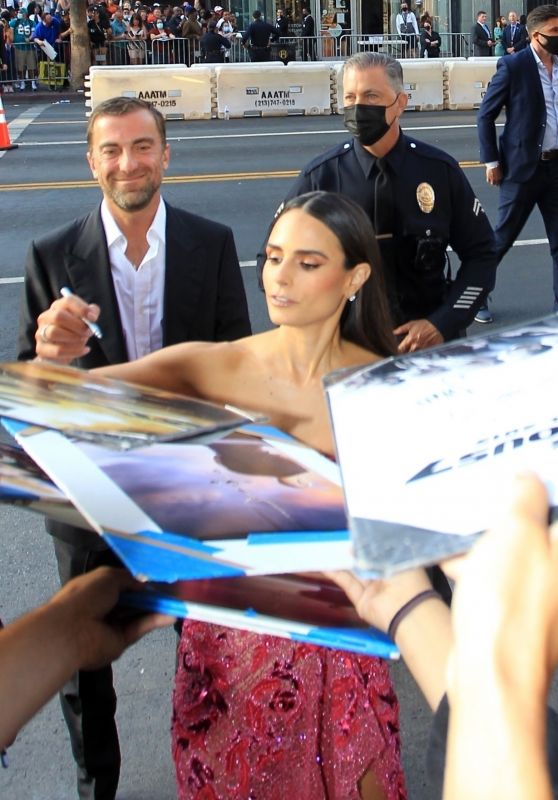 """Jordana Brewster - Signs Autographs For Fans at """"F9"""" Premiere in Hollywood 06/18/2021"""