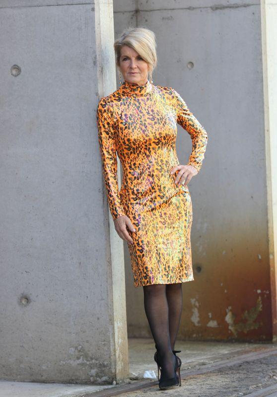 Julie Bishop at Afterpay Australian Fashion Week Street Style in Sydney 06/02/2021