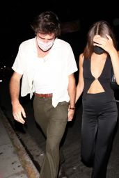 Kaia Gerber and Her Boyfriend Jacob Elordi - West Hollywood 06/16/2021