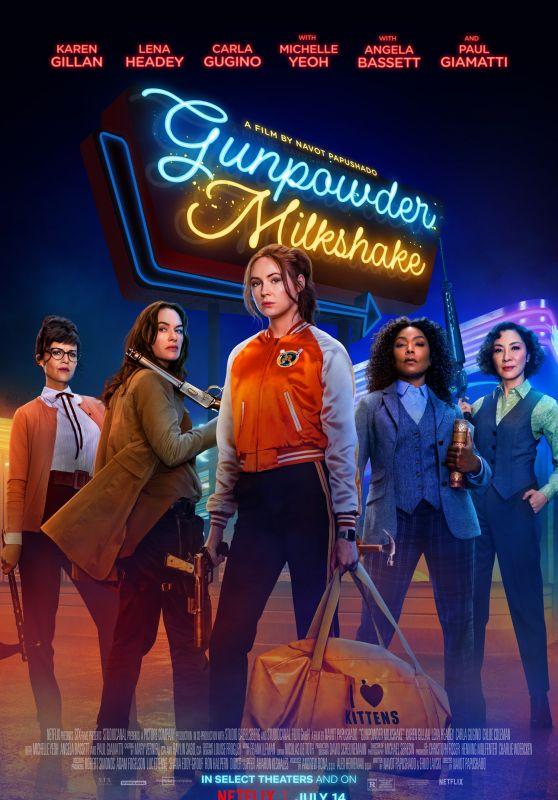Karen Gillan - Gunpowder Milkshake (2021) Poster ands Trailer