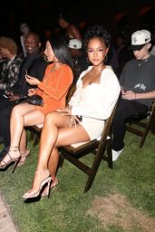 Karrueche Tran at RHUDE Fashion Show in Beverly Hills 06/23/2021