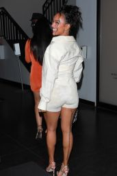 Karrueche Tran - Heads to the Delilah Restaurant in West Hollywood 06/24/2021
