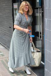 Kate Garraway - Arriving at Global Studios in London 06/11/2021