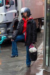 Kate Garraway - Rainy Day in London 06/21/2021