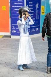 Kate Garraway Street Style - London 06/07/2021