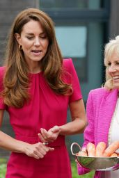 Kate Middleton and Jill Biden - Visiting Connor Downs Academy in Hayle, West Cornwall 06/11/2021
