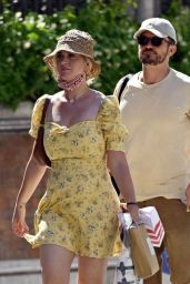 Katy Perry With Fiance Orlando Bloom in Venice 06/14/2021