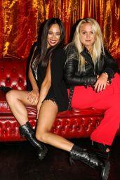Katya Jones and Aimee Fuller - Proud Embankment To See Cabaret All-Stars Starring Duncan James in London 06/17/2021