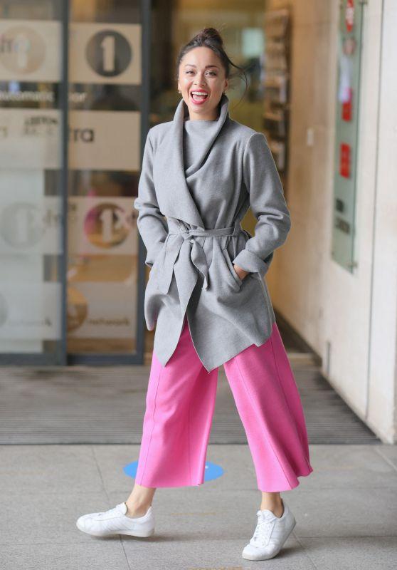 Katya Jones - Eexits BBC Morning Live TV in London 06/21/2021