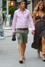 Kelly Bensimon and Nick Stefanov - Out in New York City 06/20/2021