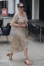 Kelly Brook in Flowing Dress - London 06/15/2021