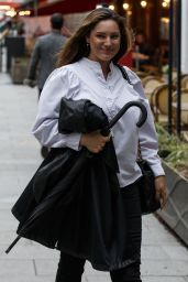 Kelly Brook - Out in London 06/21/2021