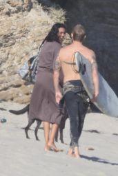 Kelly Gale - Photoshoot on the Beach in Malibu 06/12/2021