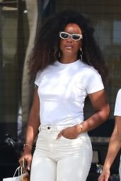 Kelly Rowland - Shopping in Beverly Hills 06/29/2021