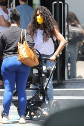 Kelly Rowland - Shops in Beverly Hills 06/05/2021