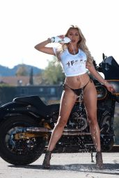 Khloe Terae - Photoshoot for the 138 Water Brand 06/03/2021